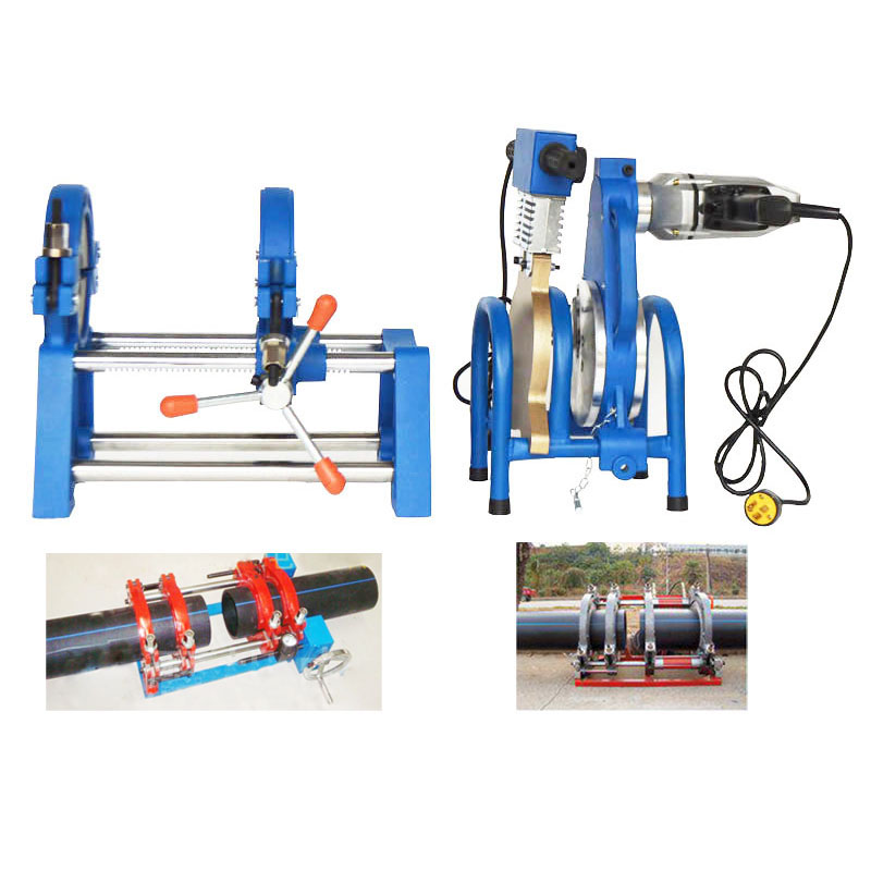 110V/220V 2 Clamps Pipe Fusion Welder Tool 2.5