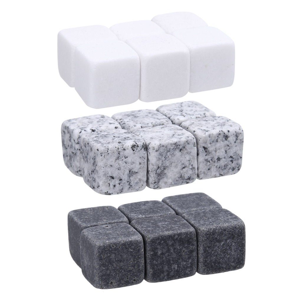 Natural Whiskey Stones Sipping Ice Cube Whisky Stone Rock Cooler