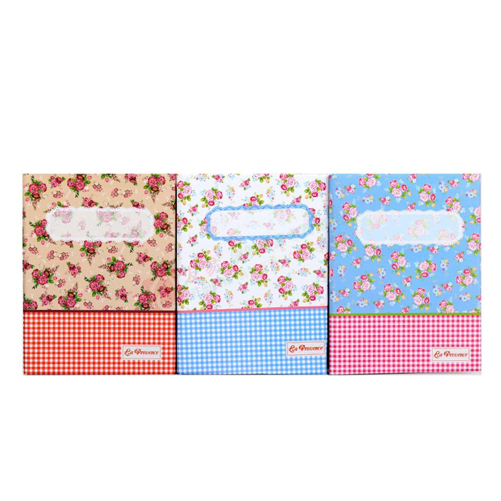 100 Pockets Floral Photo Album Memory Pictures Storage Hold Case Wedding Graduation Commemorative Album Scrapbook