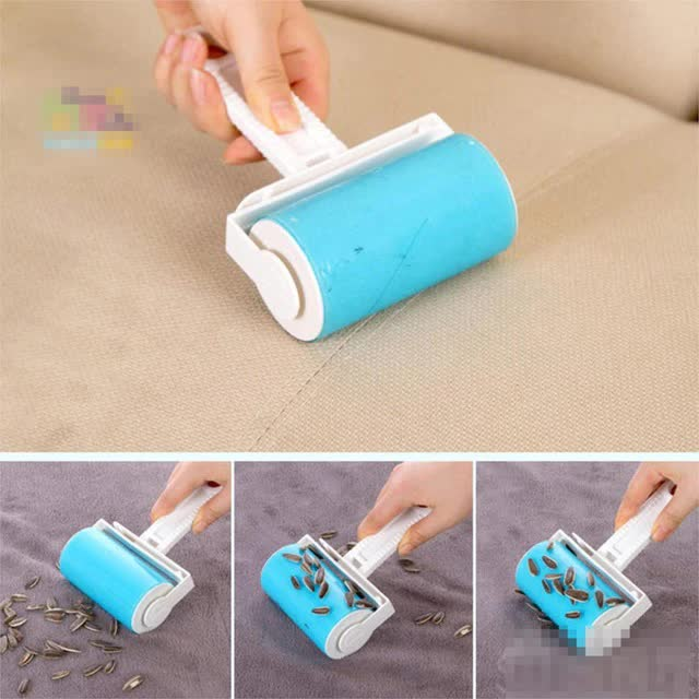 1Pc Washable hair sticky clothes sticky for wool dust catcher carpet sheets hair sucking sticky dust drum