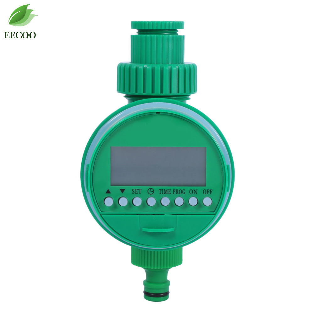 Automatic Intelligent Electronic LCD Display Home Ball Valve Watering Timer Garden Water Timer Irrigation Controller System