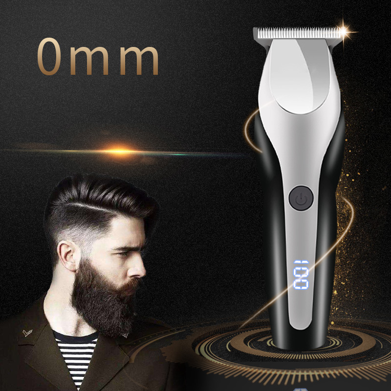 100-240 Professional Hair Clipper Cordless Electric Hair Trimmer 0 mm hair cutting Machine Beard Trimmer rechargeable