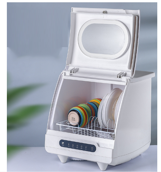 Automatic Dishwasher Intelligent Large Capacity Independent Brush Remove Bacteria Self Drying More Than Disinfection