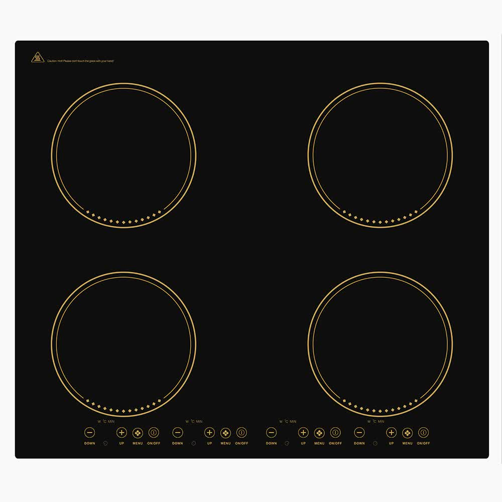 2 3 / 4 Heads Bulit-in Hobs Induction Infrared Cooker Embedded Built in Electromagnetic Cooking Burner High Power Hot Pot Stove