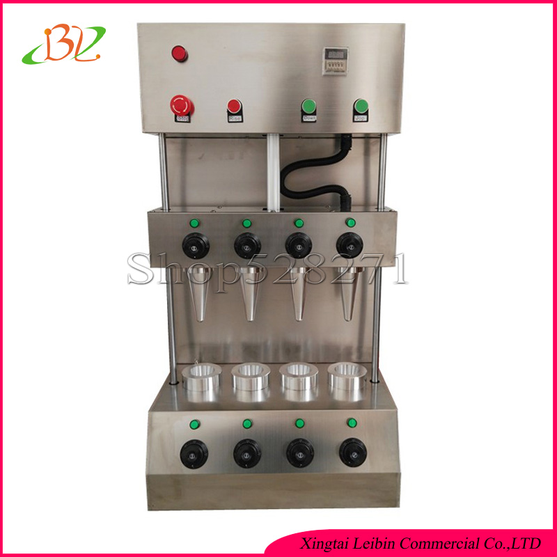 China Manufacturer Pizza cone Machine Custom production Cone size