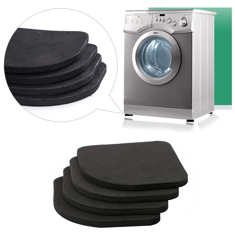 4 pcs Multifunctional Anti Vibration Mat For Refrigerator Washing Machine Pads